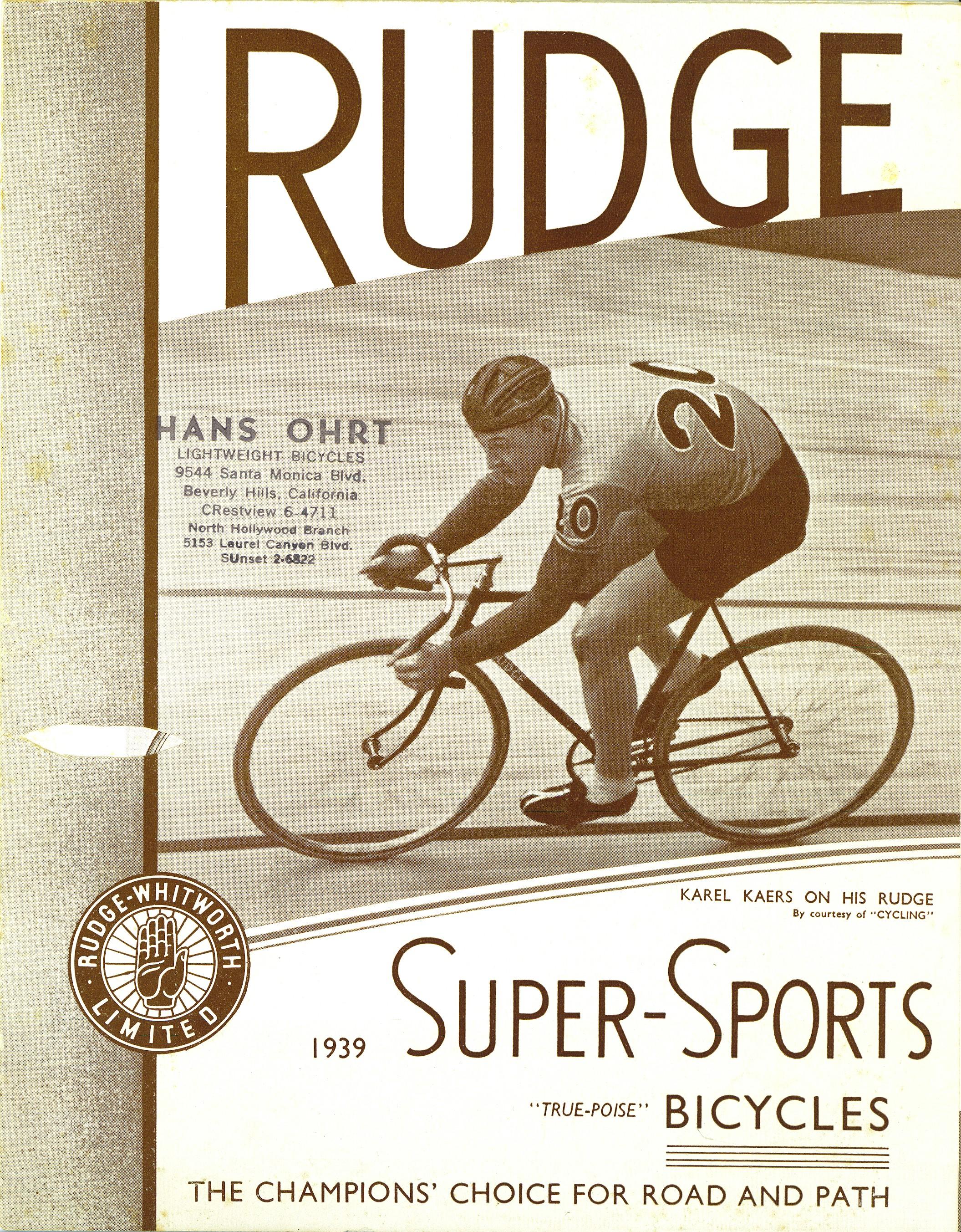 pics bike catalogs rudge 39 39 super sports. Black Bedroom Furniture Sets. Home Design Ideas