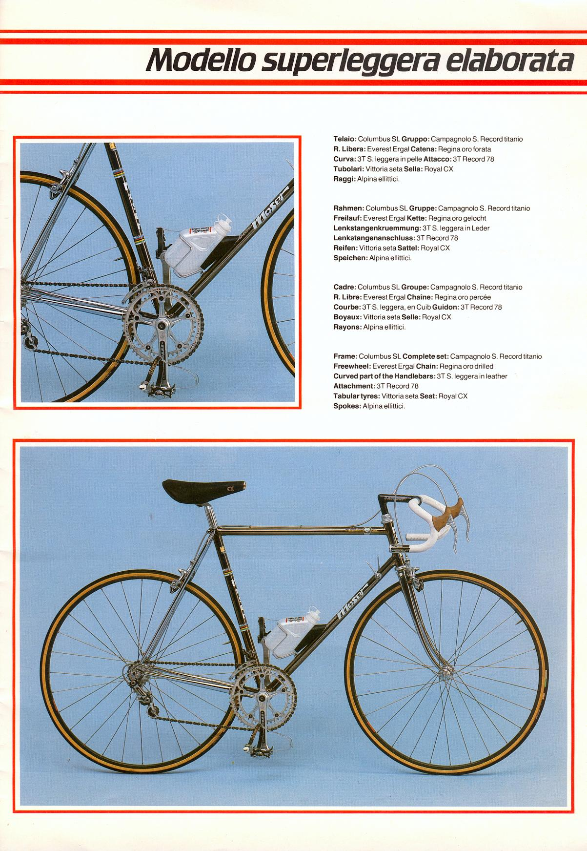 5.jpg (1203×1743)   Cromovelato Road Bikes Rennräder !!11   Pinterest